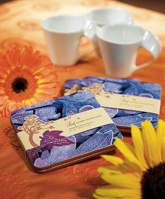 "Weddingstar 8704 ""Fall in Love"" Coaster Gift Set Favor #wedding"