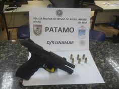POLÍCIA: Troca de tiros com a PM em Unamar - 1 baleado