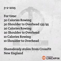 """""""Stolen from the creative minds of @CFNE Scale as needed. #CrossFit"""""""