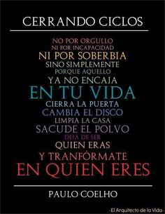 closing cycles -  Paulo Cohelo