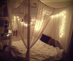 Over bed lighting. | bedrooms♡ | Pinterest | We Heart It