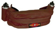 Hamilton Versa-Packs Equine Cantle Bag/Fanny Pack Deluxe, Brown by MiracleCorp Products. Save 32 Off!. $42.18. Weather and water resisitant extra padding in the backpack for protection. Contoured design to fit to saddle securely  Hidden bottom bompartment reveals pull out saddle cover. Complete with two water bottles. Hidden adjustable wide strap to convert to comfort fit fanny pack. Innovative designs for trail riding 600 Denier PVC coated rip stop nylon. This is a Hamilton Versa-Pack…