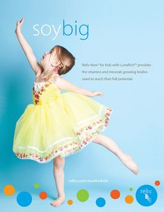 Soy Big: Reliv Now® for Kids with LunaRich™ by Reliv International, via Flickr #soy #children #Reliv