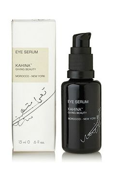Kahina Eye Serum // How To Smooth Puffy Eyes Instantly - Clementine Daily