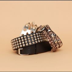 Studded belts! #spikes #studs #agaci