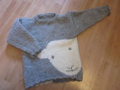 Just knitted this for Agnes. It is a Herdy pattern knitted with their lovely wool.