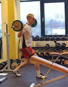 AD 2013 January Arena Ursynów siłownia Adam Wiśniewski – trening przed New Year Cup 2013 Czechy