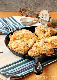 Sausage Cheese Scones