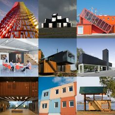 New Pinterest board filled with the best examples of shipping-container architecture from the pages of Dezeen