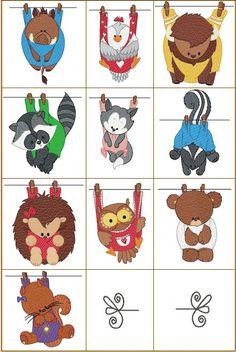 3rd row, 1st design -- Hedgehog -- ONLY