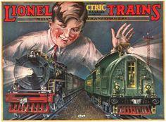 Lionel Trains catalog cover 1929