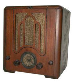 Old Radio Zone Crosley