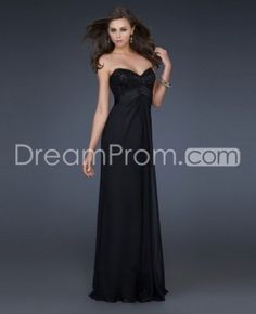 ef63c45ea8 Stand out From the Crowd with the by 17036 Empire Chiffon La Femme 17036  Dress Elegant Long Prom Dresses