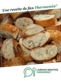 croquants aux amandes par cathy43. Une recette de fan à retrouver dans la catégorie Pâtisseries sucrées sur www.espace-recettes.fr, de Thermomix®.
