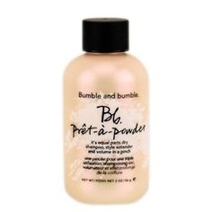 Bumble and Bumble Pretapowder Dry Shampoo Powder 2 oz >>> You can find more details by visiting the image link.Note:It is affiliate link to Amazon.