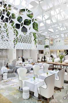 Restaurant Blanc at Mandarin Oriental, Barcelona by Mandarin Oriental Hotel Group, via Flickr