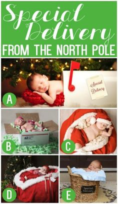 101 Creative Christmas Card Ideas from Baby and the family