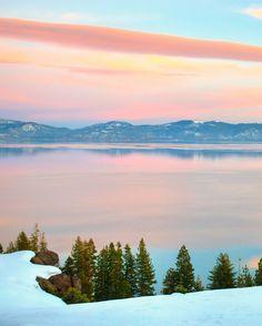 #1... Lake Tahoe.