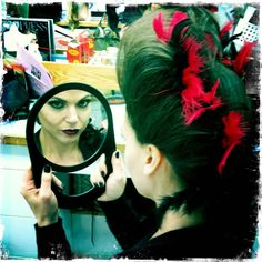 Mirror Mirror On The Wall (Or In My Hands), Who's The Fairest Of Them All? Lana Parrilla! Duh! <3