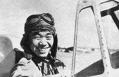 Saburo Sakai in a Claude, Hankow, China, 1939 -Pin it by GUSTAVO BUESO-JACQUIER