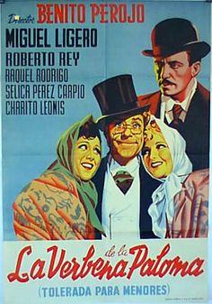 LA VERBENA DE LA PALOMA Verbena, Cinema Posters, Movie Posters, Film Movie, Movies, Movie Theater, In Hollywood, Billboard, Ronald Mcdonald