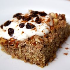 Apple Cinnamon Quinoa Breakfast Bake Recipe on Yummly