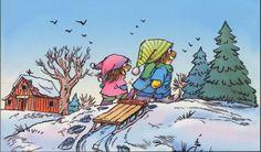 """""""Merry Christmas, Little Critter!"""" by Mercer Mayer, 2004 (http://www.amazon.com/Little-Critter-Merry-Christmas/dp/0060539720/ref=pd_sim_b_2)"""