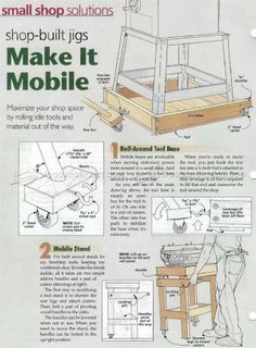#2757 DIY Mobile Base - Workshop Solutions
