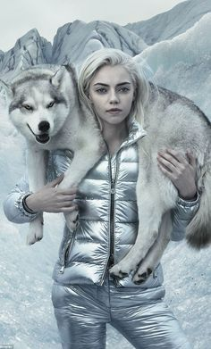 The Moncler Autumn Winter campaign for 2015 is a beautiful Nordic mystery. Perhaps the best campaign imagery we've seen for years, with plenty of dark energy inspired from Nordic mythology. The photographer Annie Leibovitz travelled to South-East Iceland to shoot these incredible images with Pyper and 'Lucky Blue' Smith, who are sister and brother.