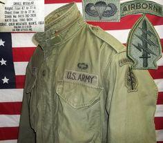 Amerikanische army jacken