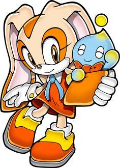 Cream the Rabbit & Cheese - Sonic