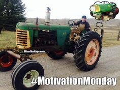 """Kevin Reiter is looking for some side covers and fender lights for his 1953 Oliver 77 Row-Crop Diesel. Mr. Walt Disney has some words of wisdom for you, """"If you can dream it, you can do it."""" #MotivationMonday #OliverHeritage"""