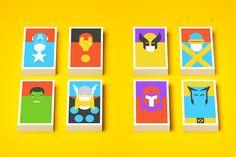Iconos culturales a lo minimal ~ La Caja de Inventia | Blog de Comunicación Creativa y Tendencias
