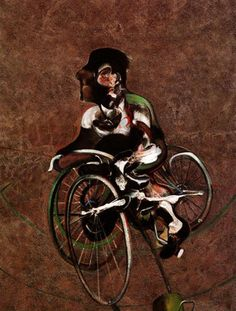 """""""Retrato de George Dyer en bicicleta"""" Francis Bacon"""