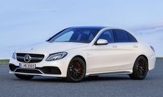 New Release 2015 Mercedes-AMG C 63 Review Front Side View Model