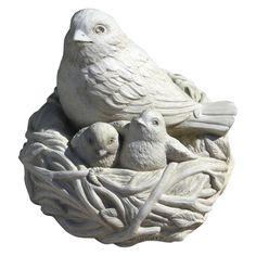 Full Nest Garden Statue - Garden Statues at Hayneedle