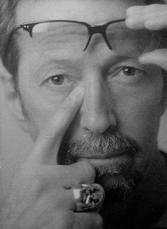 Eric Clapton, Lee Jeffries, Cream, Portrait, Music, Creme Caramel, Musica, Musik, Headshot Photography