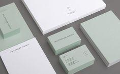 Holzweiler Agency by Bielke&Yang, Norway. #branding #businesscards #stationery