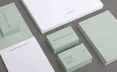 Holzweiler Agency by Bielke&Yang, Norway. #branding #businesscards #stationery