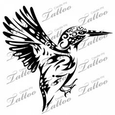 Marketplace Tattoo SBink Kingfisher #1478 | CreateMyTattoo.com