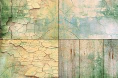 Shabby painted wood wall texture by Area on Creative Market