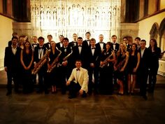 Cardiff University Big Band at Brecon Cathedral in December 2011