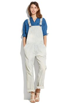 The Tomboy Way To Do Throw-On-&-Go #refinery29  http://www.refinery29.com/overalls#slide2