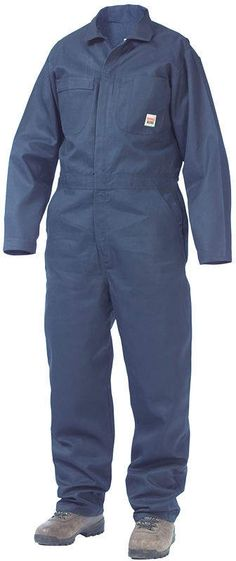 f7be193b4cb Work King Long-Sleeve Unlined Coveralls - Big & Tall Uniformes  Industriales, Overol Hombre