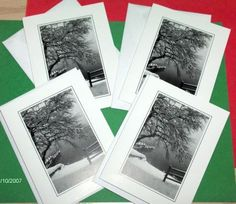 4  Handmade  GREETING CARDS by ARTIST  lot by SouthamptonCreations, $5.00