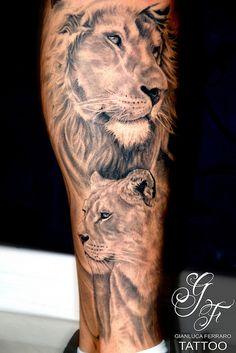 Lion Tattoo   Gianluca Ferraro   Flickr