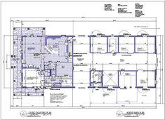 1558 Sq Ft Living Quarters 2050 Sq Ft Barn Floor Copyrights Dmaxdesigngroup.com