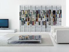 Librería de MDF RANDOM by MDF Italia diseño Eva Paster, Michael Geldmacher