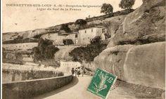maison dans la roche à Tourrettes sur loup, Provence, alpes maritimes