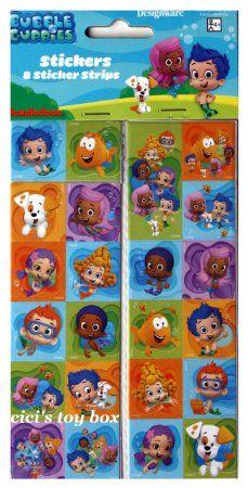 Amazon.com : Bubble Guppies Stickers : Childrens Decorative Stickers : Toys & Games $1.92